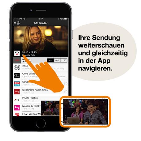 3mobile tv app fernsehen immer wo sie wollen - Tv und mediamobel ...