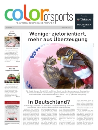 Color of Sports Magazin online im 3Kiosk lesen