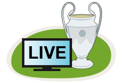 Die Champions League gibt's in der 3Mobile TV App