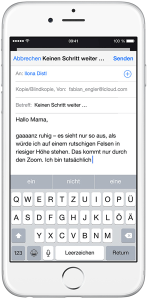iOS8 Quicktype